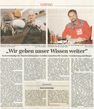 """Pressebericht """"Leipziger Volkszeitung"""" vom 14.06.2007"""