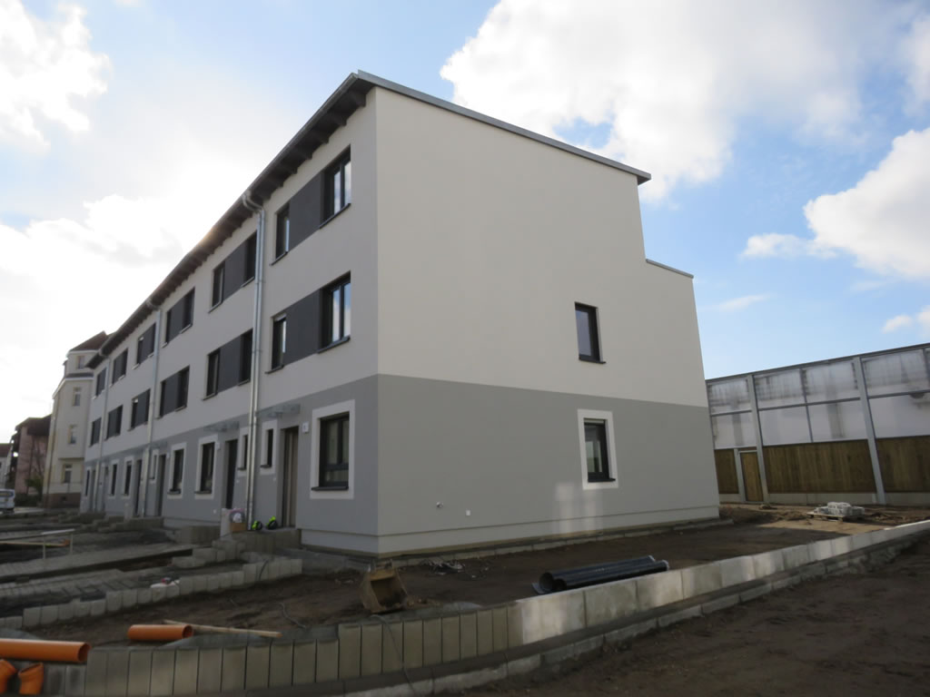 2017 - Reihenhäuser in Leipzig-Grosszschocher
