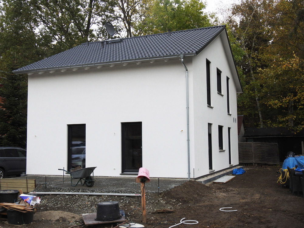 2018 - Einfamilienhaus Holzrahmenbauweise Brandis