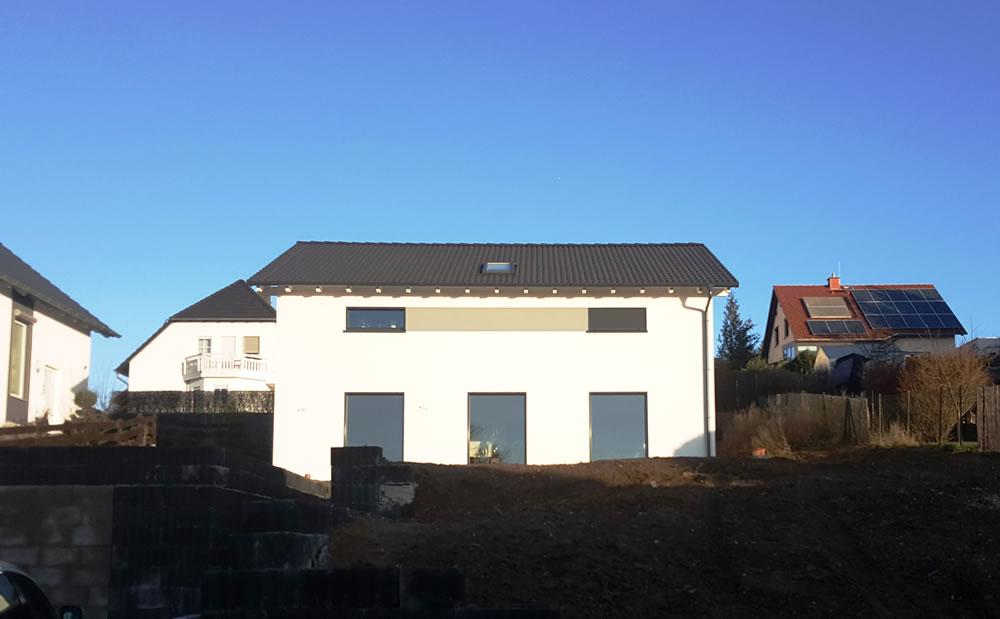 2018 - Holzrahmen-EFH in Gutenberg
