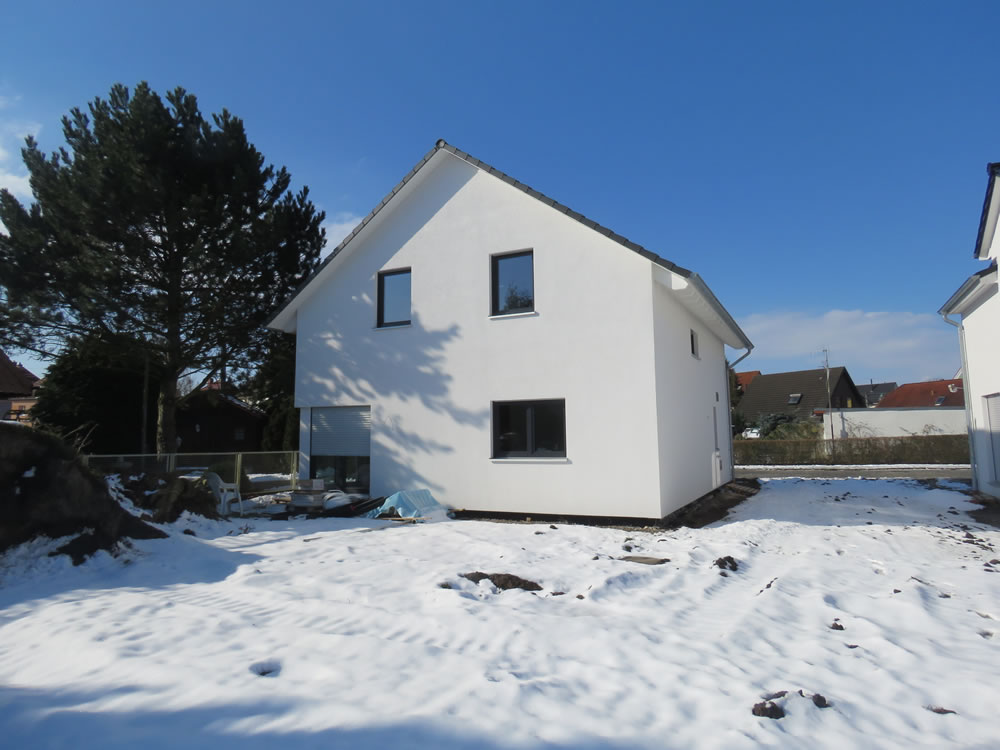2018 - Holzrahmenhaus in Leipzig-Lindental