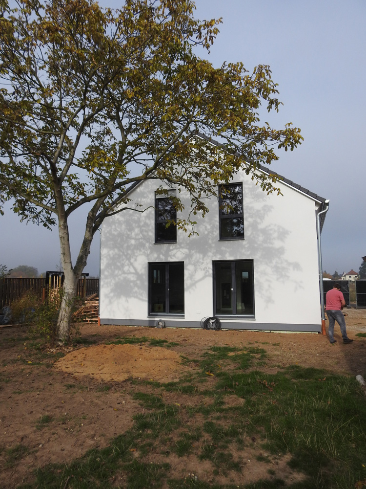 2018 - Holzrahmenhaus Markkleeberg