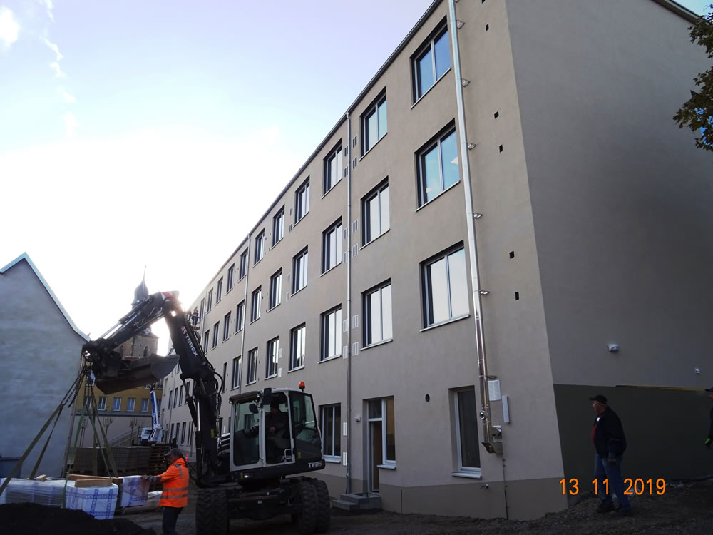 2019 - Neubau Gymnasium in Hettstedt