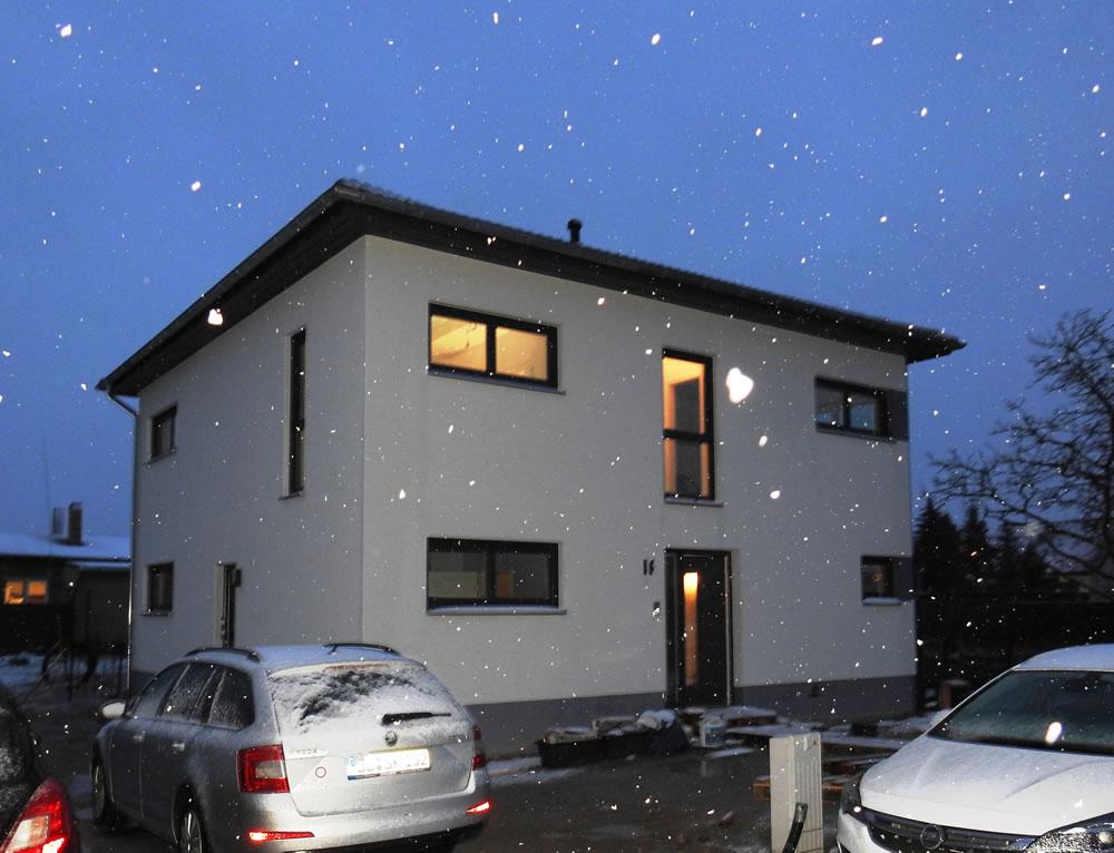 2019 - Stadthaus Taucha bei Schnee