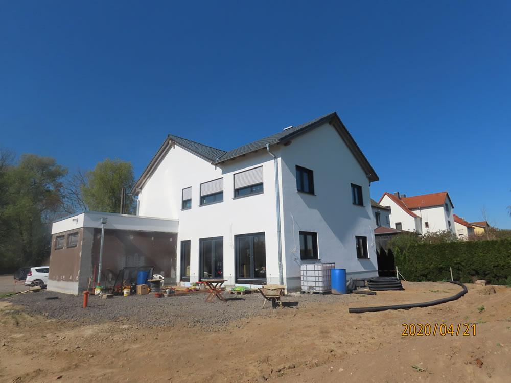 2020 - Einfamilienhaus Leichtbetonsteine in Riesa