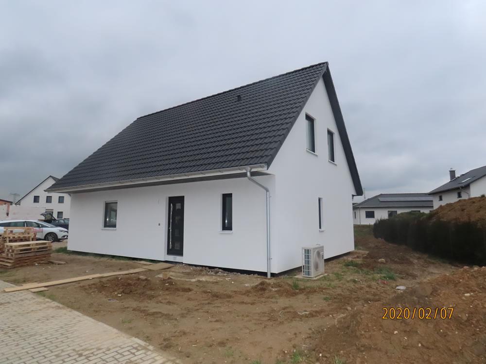 2020 - Holzrahmenhaus Rakwitz OT Biesen