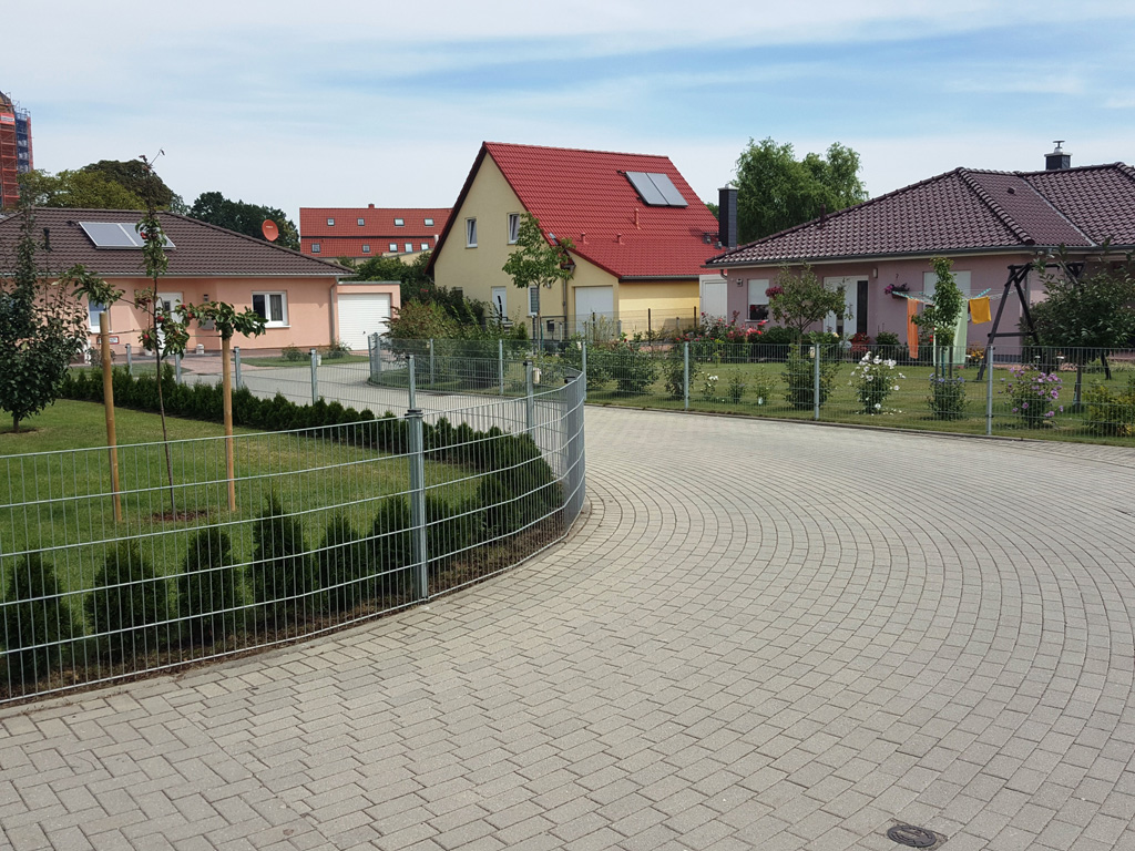 2014 - Wohngebietsprivatstraße - Liebertwolkwitz